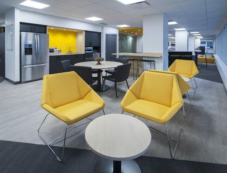 Office lunchroom by Jonathan Morgan & Company