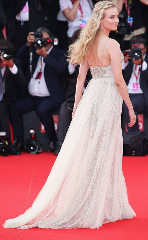 Diane Kruger in Elie Saab Couture (Venice Film Festival 2011)