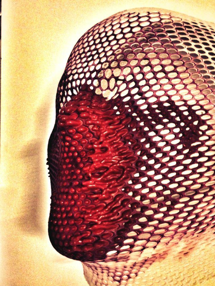 Otello - Scultura angolare su tela. (particolare) - Autore: Guido Fruscoloni - 2013