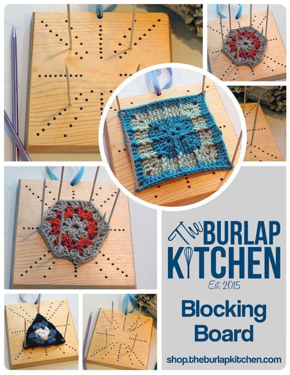 Blocking Board- crochet, knit, granny square, wet block, blocking station