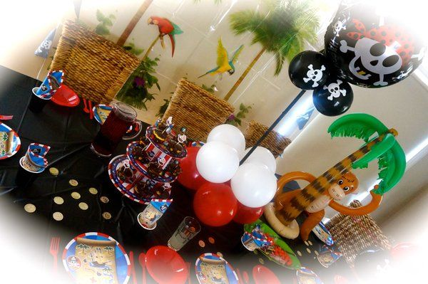 Ultimate Pirate Party for 10 guests
