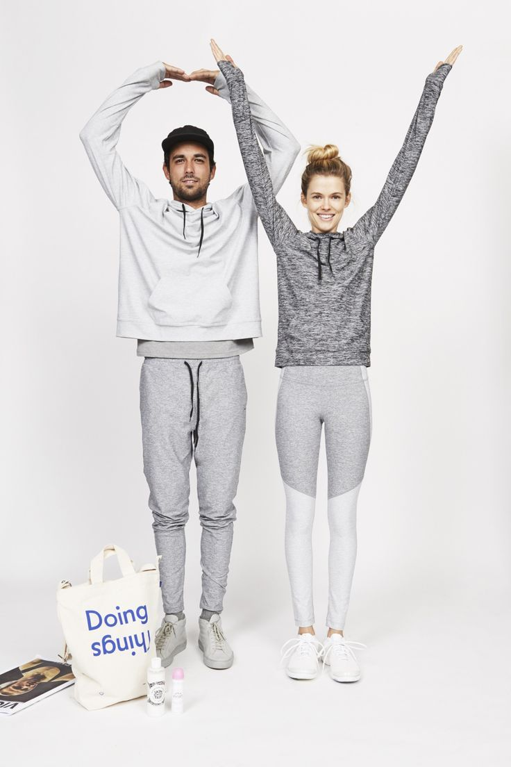 Looks from major activewear line for men and women, Outdoor Voices