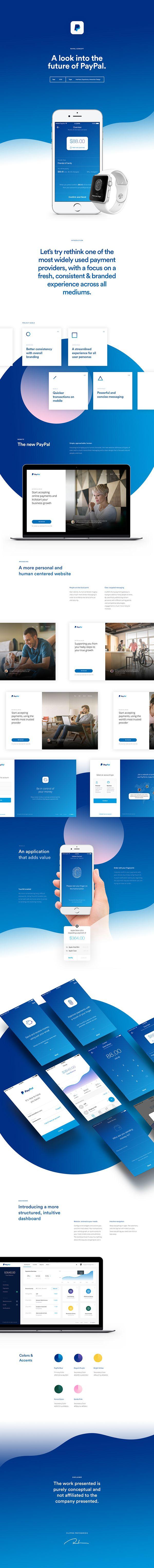 UI Design: PayPal Concept Design | Abduzeedo