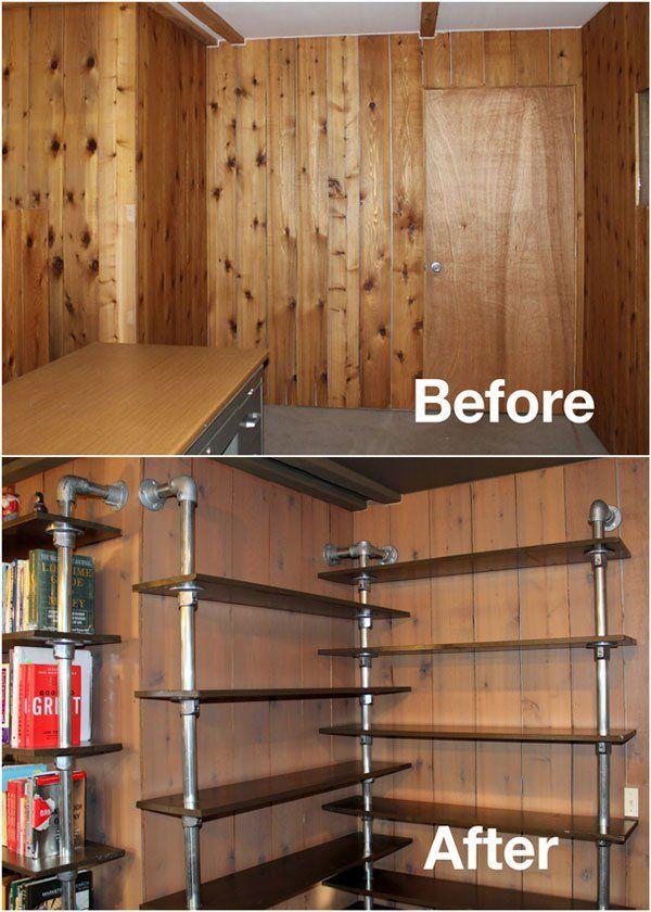Corner Shelf - Before After