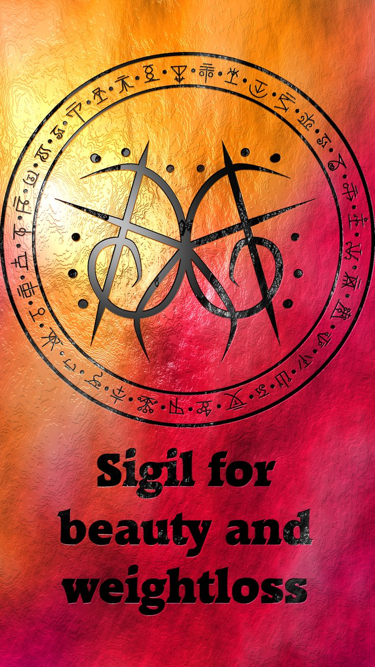 Sigil for beauty and weightloss Requested by anonymous