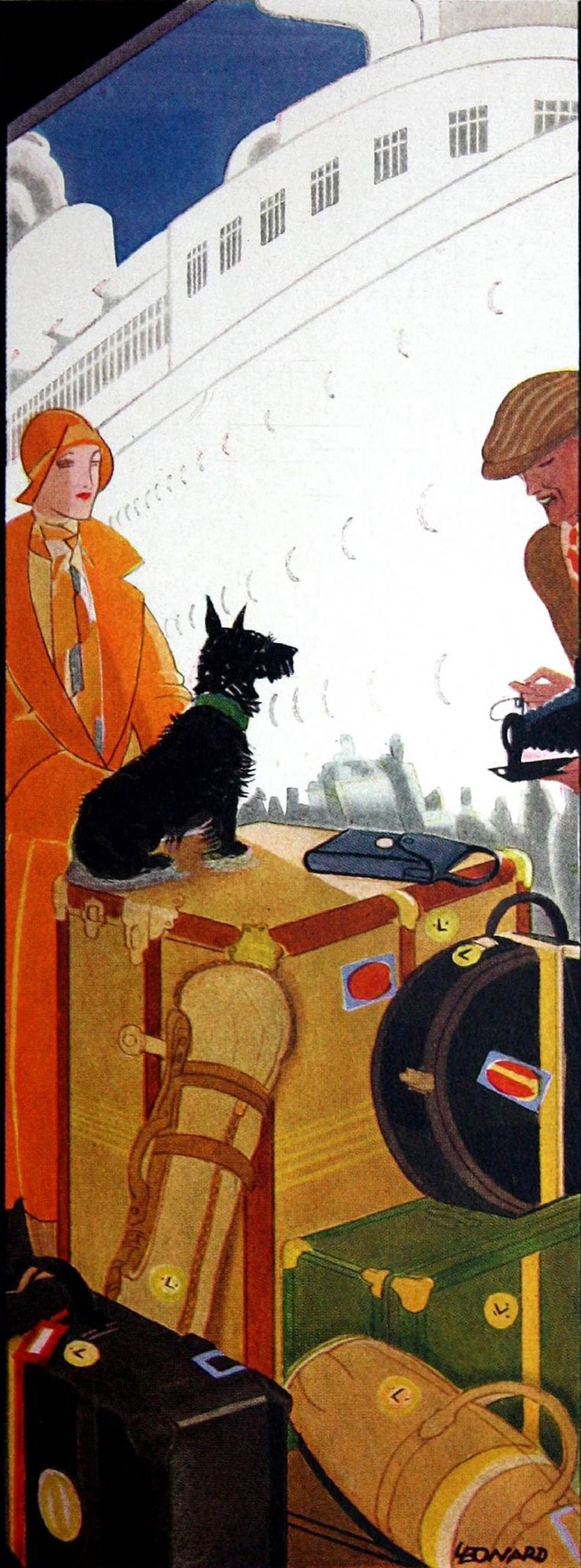 Vintage Art Deco Illustration