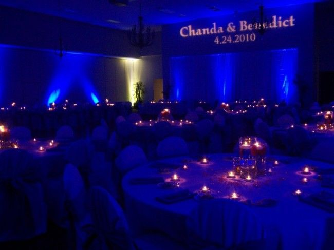 diy wedding lighting. blue wedding lighting blues are always a soothing choice diy