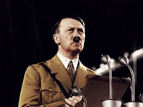 ADOLF HITLER's Speech Declaring War on America (720p) - YouTube