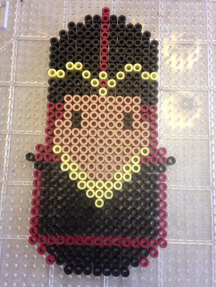 Jafar from Disney Aladdin perler bead