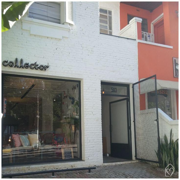 Conhecendo a Collector | lugar cheio de charme, tijolinho branco nos conquista