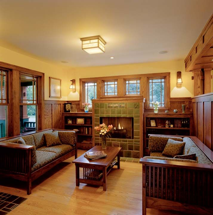 Craftsman Style Houses Interior The