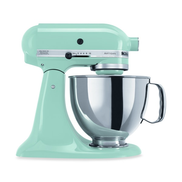 Mint Green Kitchen Aid Standing Mixer Dream Kitchen