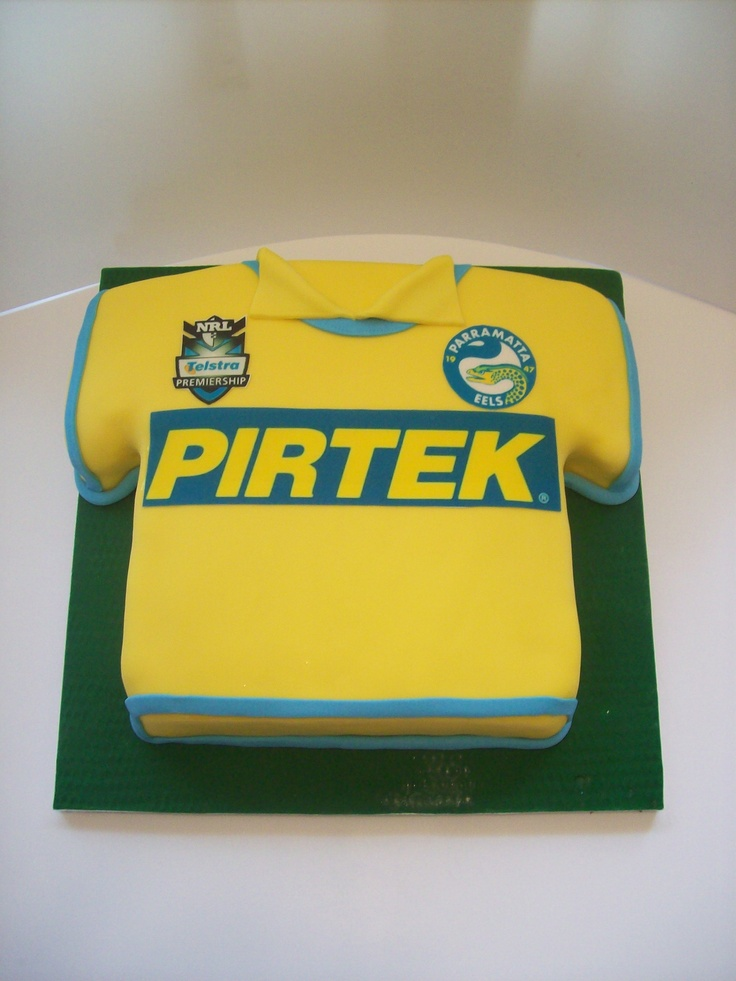 Parramatta Eels Jersey cake usually $250 but for may its on sale for $199!