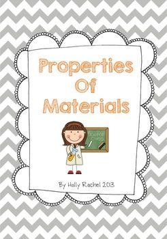 Science: Properties of Materials Bundle