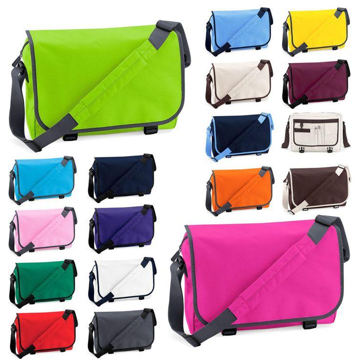 Messenger Bag BagBase® Schultertasche Schultasche College Tasche