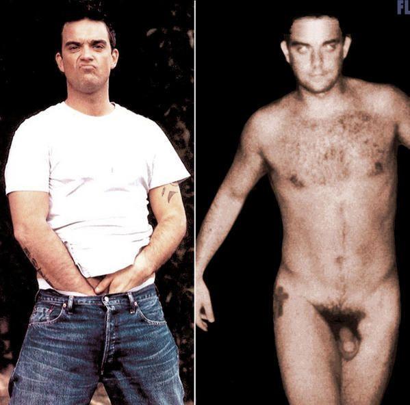 Robbie Williams Naked 57