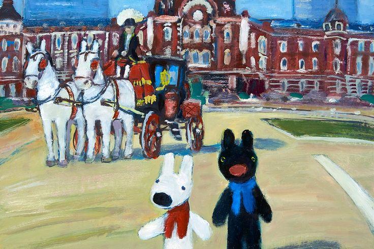 Georg Hallensleben 油絵ならではのタッチを間近で見よう!リサとガスパールの原画展が開催