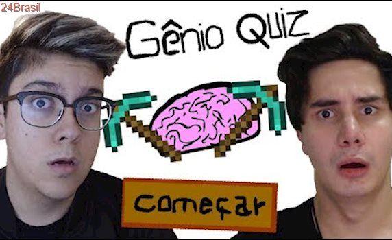 NÃO SABEMOS JOGAR MINECRAFT! - Genio Quiz Minecraft