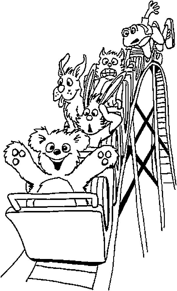 Rollercoaster Art Cars Coloring Pages Elsa Coloring Pages Free Coloring Pages