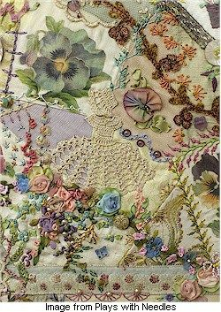 Don't miss Susan Elliott's post about how a piece of needlework changed her life. Amazing story. And the photos deserve deep study. See the post on Plays With Needles blog.
