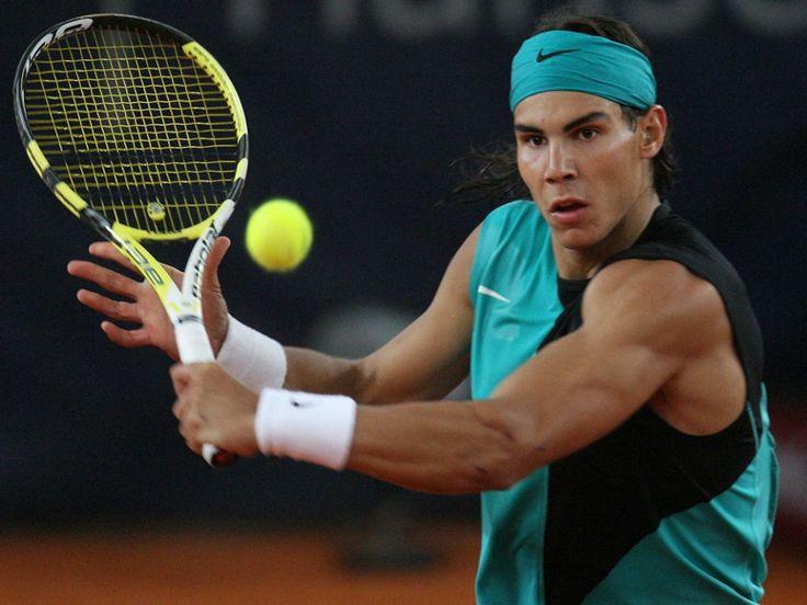 Рафаэль надаль звезда тенниса шелка плакат 32 x 24  17  x 13  -- 027