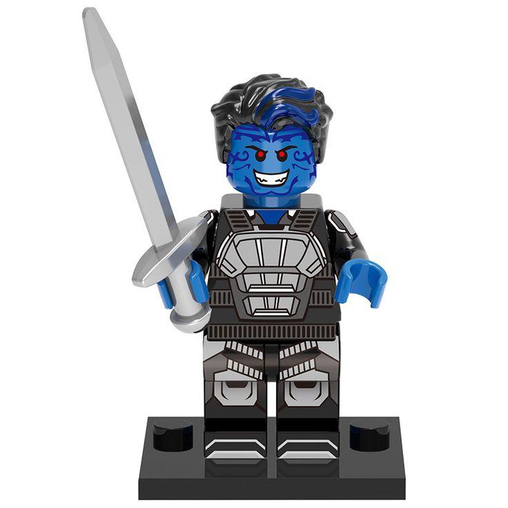 "- MInifigure from X-Men Apocalypse Movie - Nightcrawler - 2"" tall - Not Lego Brand"