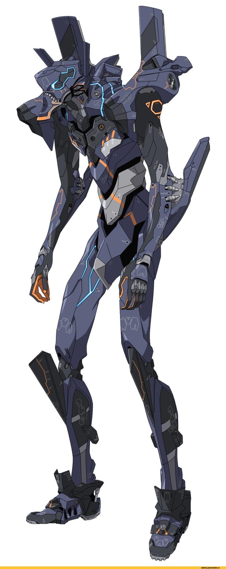"sekigan:  EVA ""Unit-Null"" (bad ass!) | Sci-fi | Pinterest"