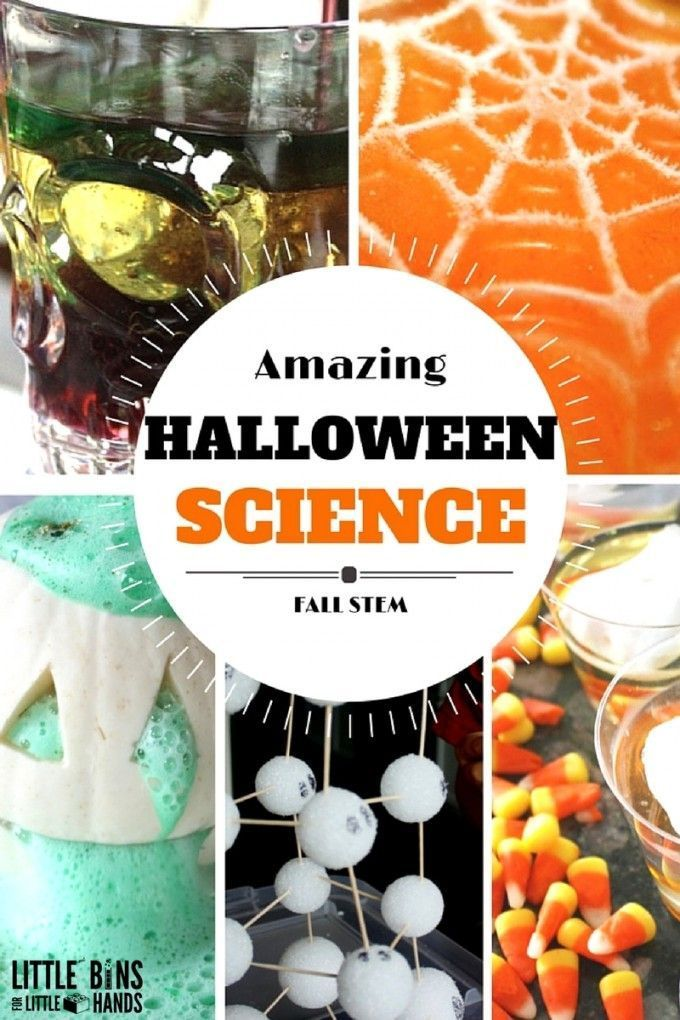 halloween science activities and halloween stem ideas for kids fall science - Easy Halloween Decorations For Kids
