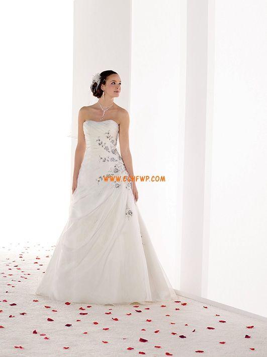 2014 tavasz Organza Nyár Menyasszonyi ruhák 2014