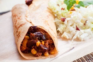 Weight loss recipes from  Dr Joel Furhman  Bean Enchiladas