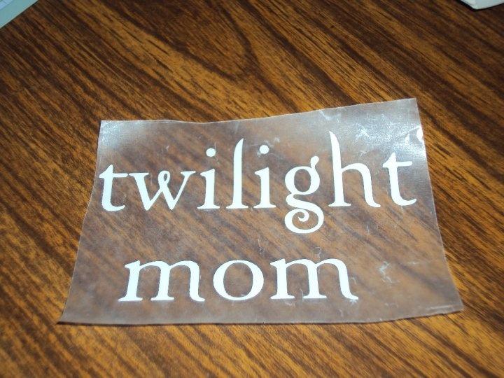 Cricut Expression, White Contact Paper, Twilight Font SVG