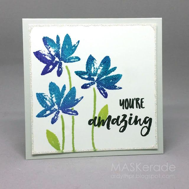 NBUS8 - You're Amazing by Ardyth - Cards and Paper Crafts at Splitcoaststampers