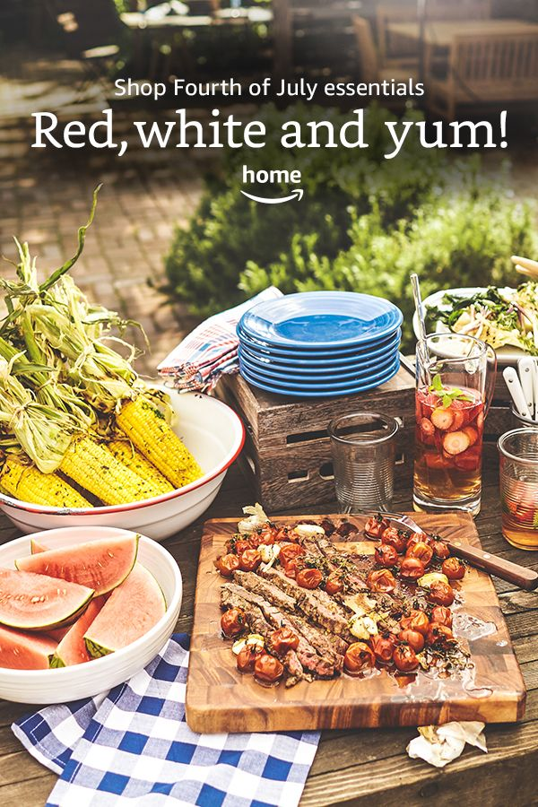 Explore Fourth of July essentials perfect for outdoor entertaining!