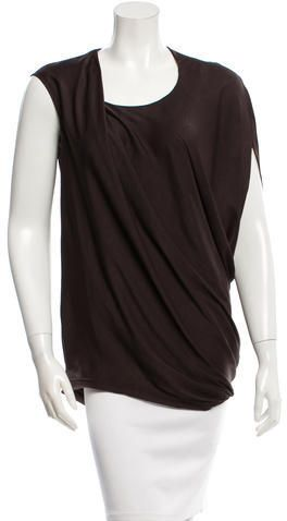 Helmut Lang Oversized Asymmetrical Top w/ Tags