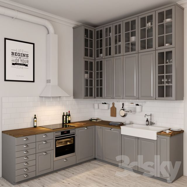 Ikea Bodbyn Interior Design Kitchen Small Kitchen Design Small Kitchen Design