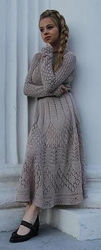 knit dress - Jarmarka Masterov