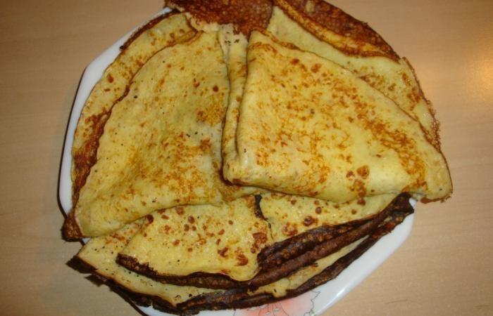Régime Dukan (recette minceur) : Crêpes p'tit déj ou 4h #dukan http://www.dukanaute.com/recette-crepes-p-tit-dej-ou-4h-4534.html