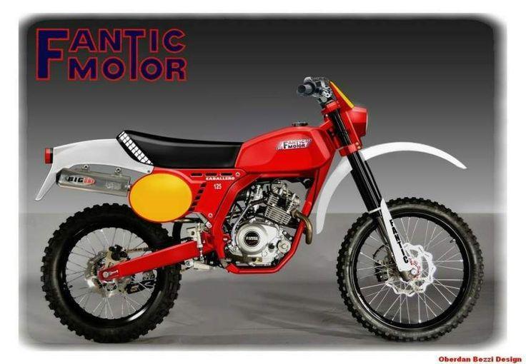 Fantic Motor Caballero RC 125 Classic