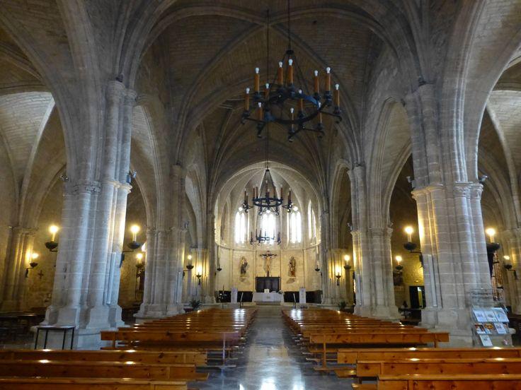 Interior de la Iglesia de San Pedro en Ciudad Real.