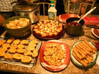 Fried Pies and Fireflies: Tailgate Party Food