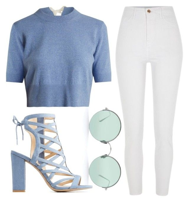 """Sky"" by liaperezmorales on Polyvore featuring River Island, Sunday Somewhere, Charlotte Russe and Altuzarra"