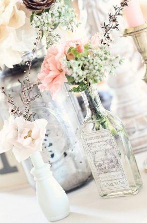 Summer Adventure: Treasure hunt in a thrift storeDecor, Ideas, Antiques Bottle, Vintage Bottle, Vintage Vases, Old Bottle, Centerpieces, Flower, Liquor Bottle