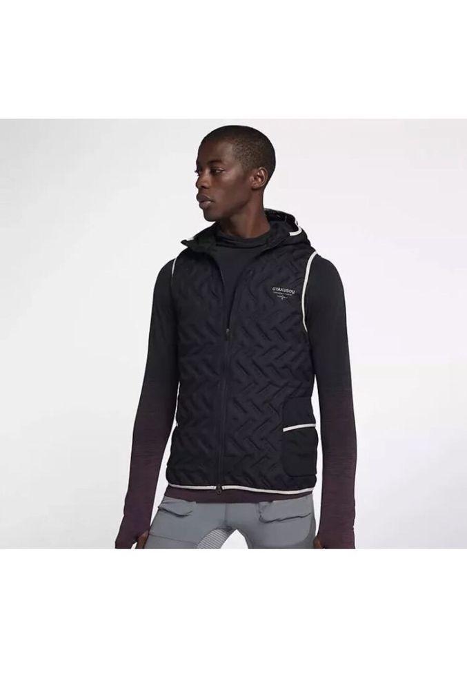811735c4 Nike NIKELAB Gyakusou Undercover Aeroloft Running Vest 910796-010 Size XL  Black #Nike #Vests
