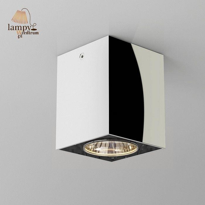 Lampa plafon ROTAX chrom Cleoni T087A1Sh601 - LAMPYWCENTRUM - żyrandole, lampy…