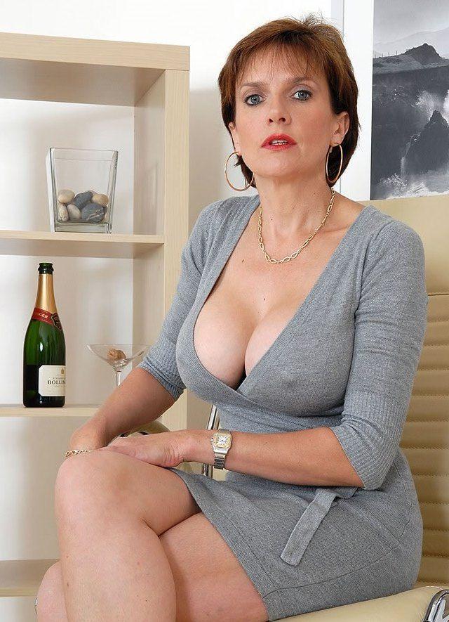 Sexy mother upskirt panties and stockings