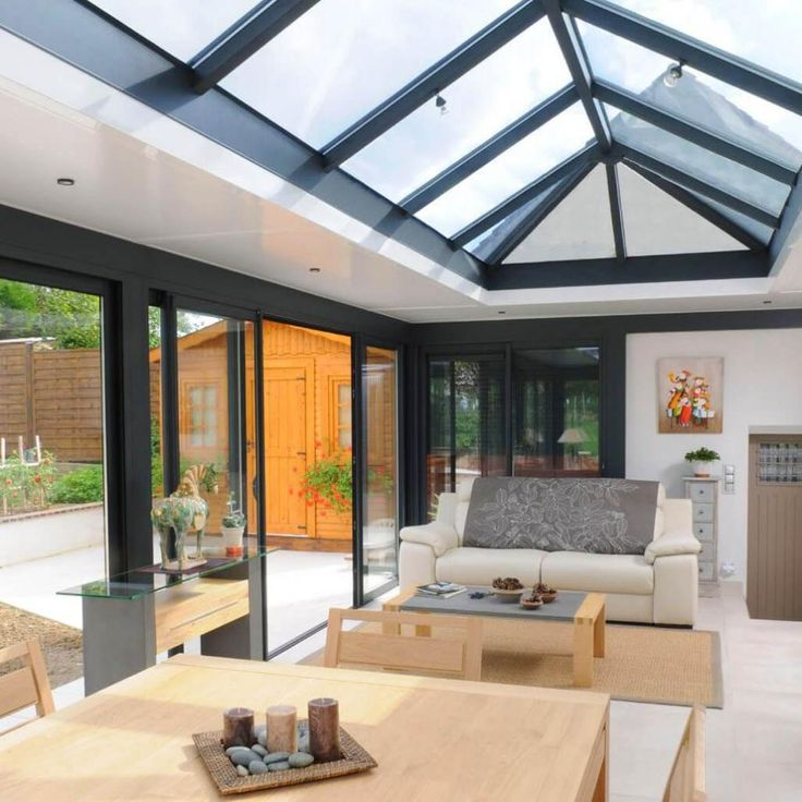 12 best Véranda à toit plat lumineuse images on Pinterest