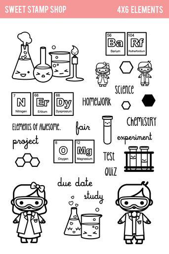 Science stamps www.sweetstampshop.com
