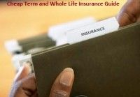 Cheap Term and Whole Life Insurance Guide, but unfortunately during these economic times many families can't afford cheap term life insurance guide.