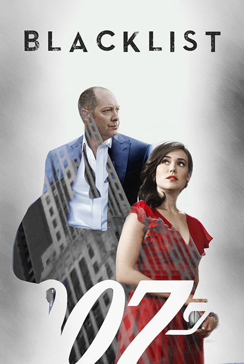 The Blacklist & James Bond - This literally made me giggle... mainly because of the look on Red's face