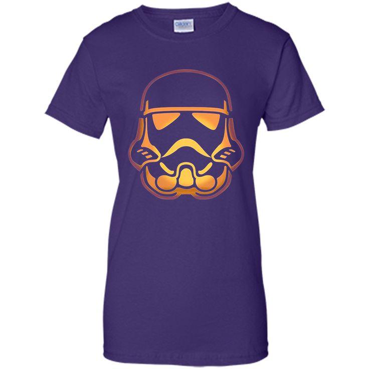 Stormtrooper Pumpkin Carving Halloween t-shirt